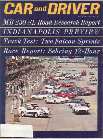 Sports Car Illustrated - June 1963