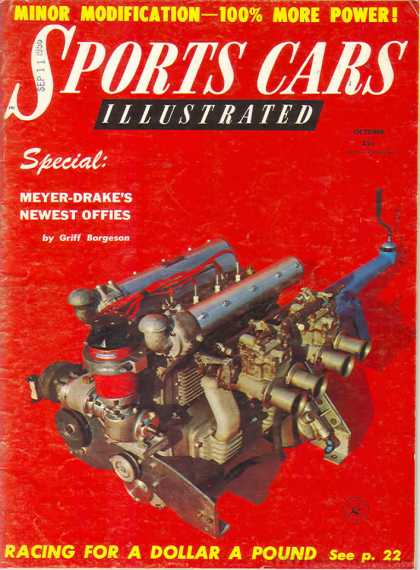 Sports Car Illustrated - October 1956