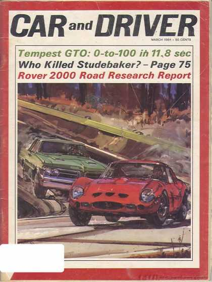 Sports Car Illustrated - March 1964