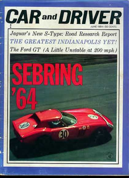 Sports Car Illustrated - June 1964