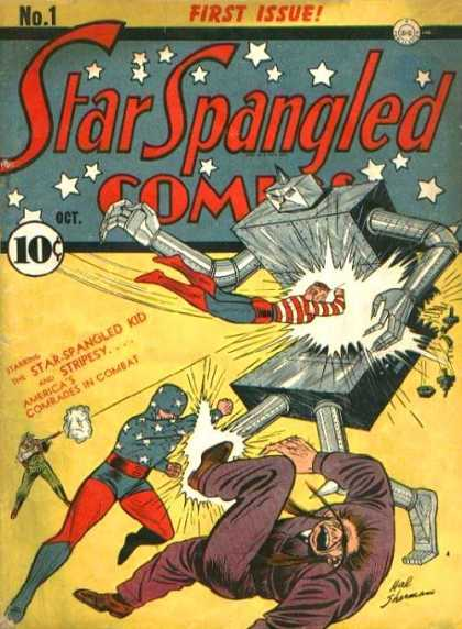 Star Spangled Comics 1 - Stars - Combat - Oct - Tin Man - Red Boots