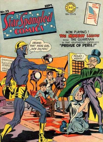 Star Spangled Comics 12 - Newsboy - Prevue - Peril - Guardian - Jack Dalton - Jack Kirby, Joe Simon