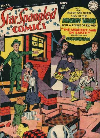 Star Spangled Comics 14 - Jack Kirby, Joe Simon