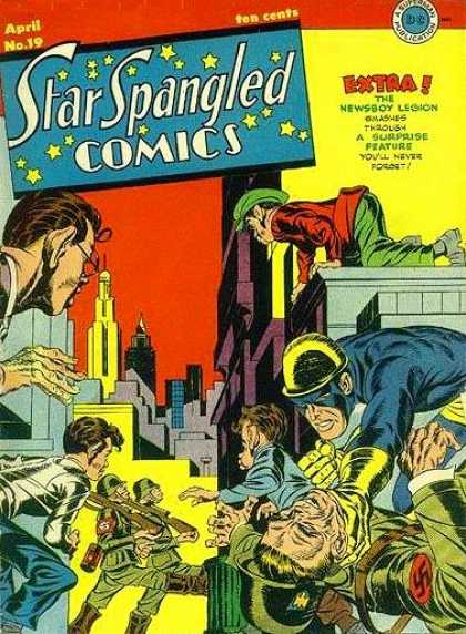 Star Spangled Comics 19 - Jack Kirby, Joe Simon