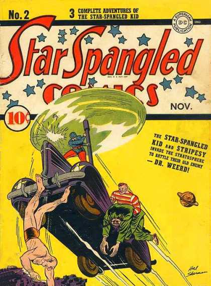 Star Spangled Comics 2 - Star Spangled Comics - Star Spangled Kid - Stripesy - Dr Weerd - Stratosphere