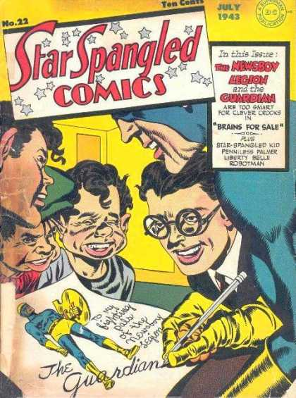 Star Spangled Comics 22