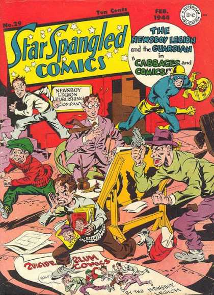 Star Spangled Comics 29 - Jack Kirby