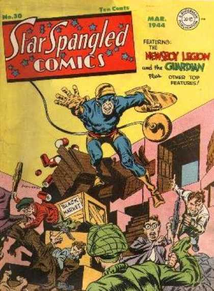 Star Spangled Comics 30 - Jack Kirby