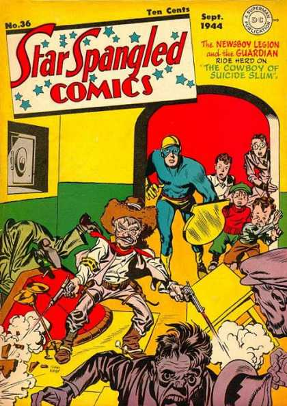 Star Spangled Comics 36 - Ten Cents - September - Dc - Superhero - Safe