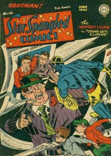Star Spangled Comics 45