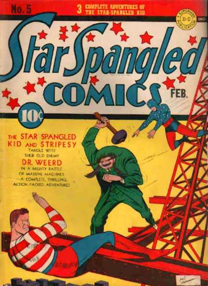 Star Spangled Comics 5