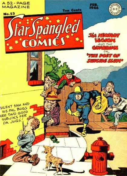 Star Spangled Comics 53 - Jack Kirby