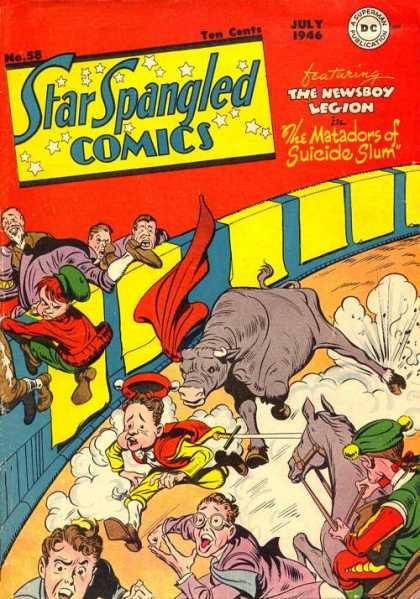 Star Spangled Comics 58 - Jack Kirby