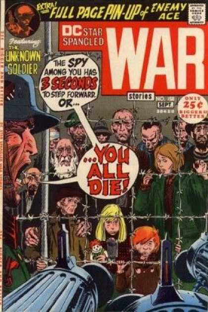Star Spangled War Stories 158 - The Unknown Soldier - Fence - Guns - September - Prisoners - Joe Kubert