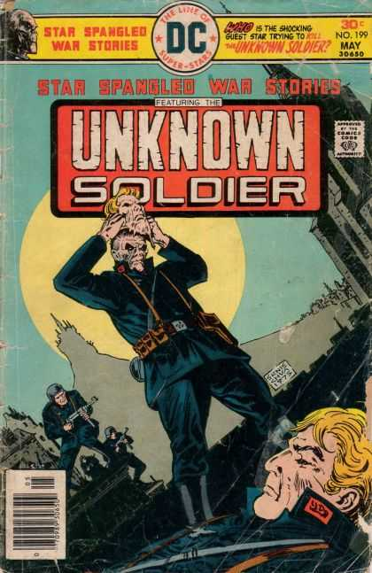 Star Spangled War Stories 199 - Unknown Soldier - Dc Comics - Ernie Chua - The Line Of Dc Super-stars - Soldiers