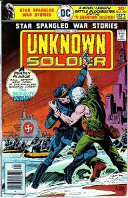 Star Spangled War Stories 201 - Unknown Soldier - Swastika - City - Police Officer - Water - Joe Kubert