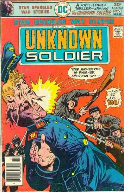 Star Spangled War Stories 202 - Uknown Soldier - Wwii - Dc Comics - Nazis - Ss