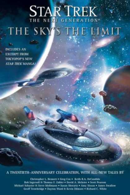 Star Trek Books - The Sky's the Limit (Star Trek: The Next Generation)