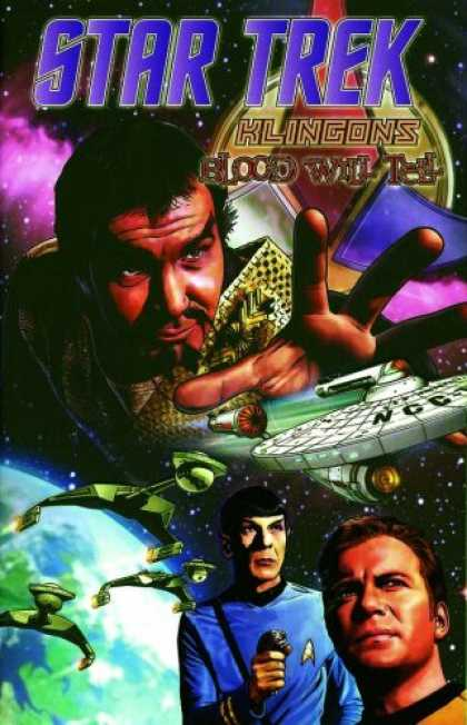 Star Trek Books - Star Trek: Klingons - Blood Will Tell