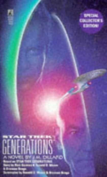 Star Trek Books - Star Trek Generations (Star Trek The Next Generation)