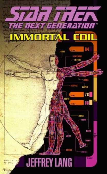Star Trek Books - Immortal Coil (Star Trek The Next Generation)