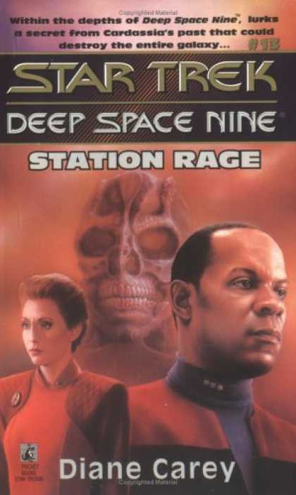 Star Trek Books - Station Rage (Star Trek Deep Space Nine, No 13)