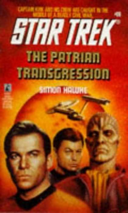 Star Trek Books - The Patrian Transgression (Star Trek, Book 69)