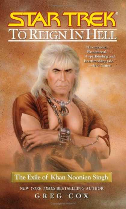 Star Trek Books - To Reign in Hell: The Exile of Khan Noonien Singh (Star Trek)