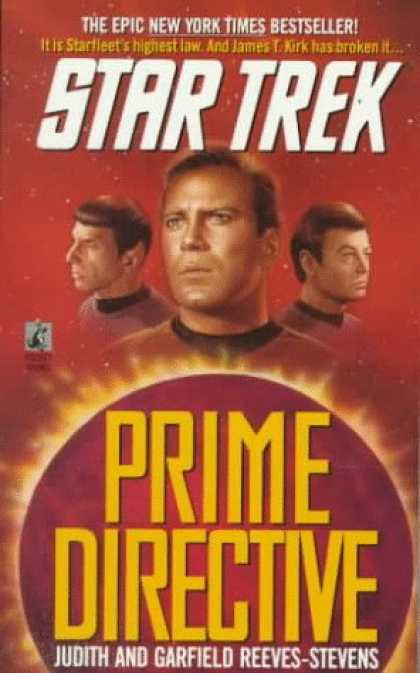 Star Trek Books - Prime Directive (Star Trek)