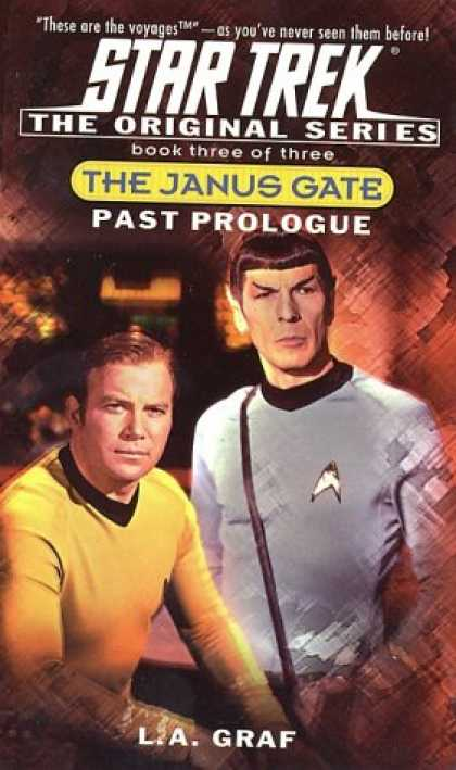 Star Trek Books - Past Prologue: The Janus Gate Book Three [of Three](Star Trek The Original Serie