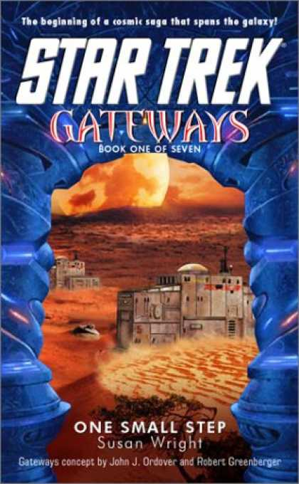 Star Trek Books - Gateways #1: One Small Step (Star Trek)