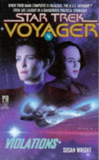 Star Trek Books - Violations (Star Trek Voyager, No 4)