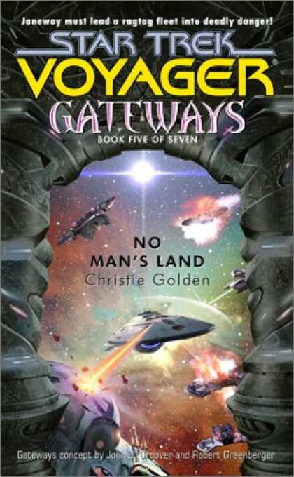 Star Trek Books - No Man's Land (Star Trek Voyager: Gateways, Book 5)