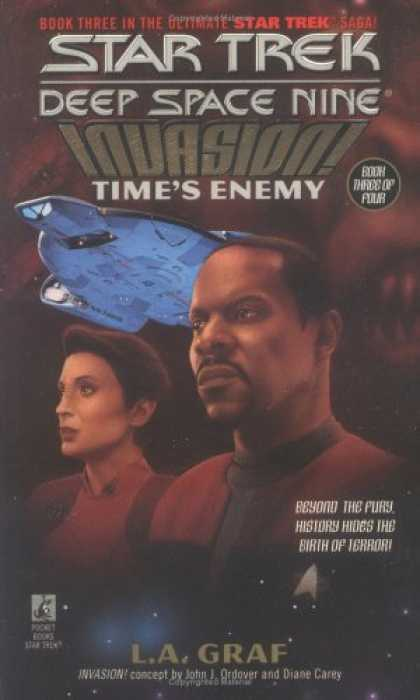 Star Trek Books - Time's Enemy (Star Trek Deep Space Nine: Invasion, Book 3)