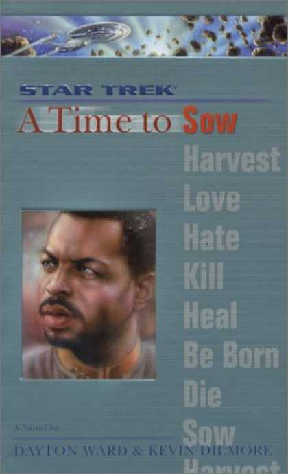 Star Trek Books - A Time to Sow (Star Trek The Next Generation)