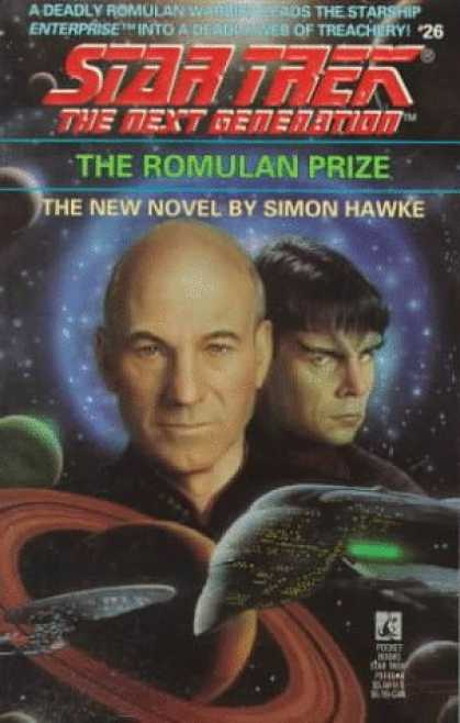 Star Trek Books - The Romulan Prize (Star Trek The Next Generation, No 26)