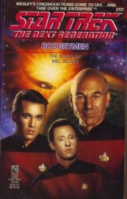 Star Trek Books - Boogeymen (Star Trek: The Next Generation, No. 17)