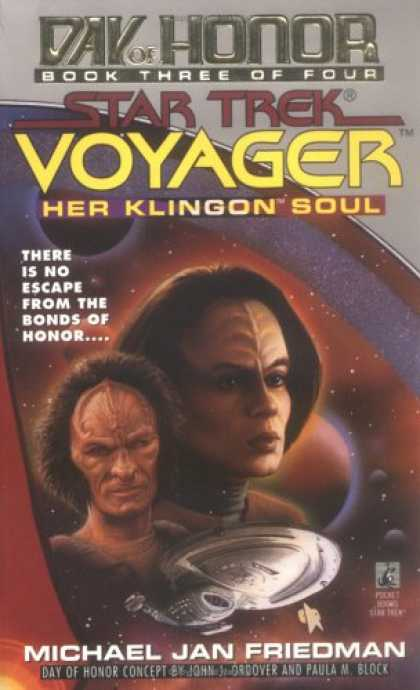Star Trek Books - Her Klingon Soul (Star Trek Voyager: Day of Honor, Book 3)