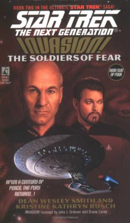 Star Trek Books - Invasion: The Soldiers of Fear (Star Trek: The Next Generation, No. 41)