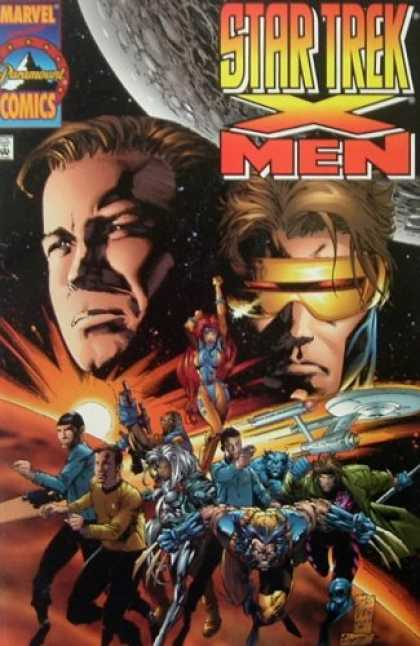 Star Trek Books - Star Trek/X-Men #1 (Vol. 1, No. 1, December 1996)