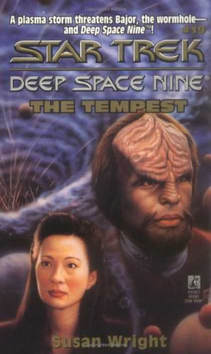 Star Trek Books - The Tempest (Star Trek Deep Space Nine, No 19)
