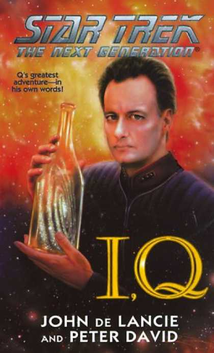 Star Trek Books - I, Q (Star Trek: The Next Generation)