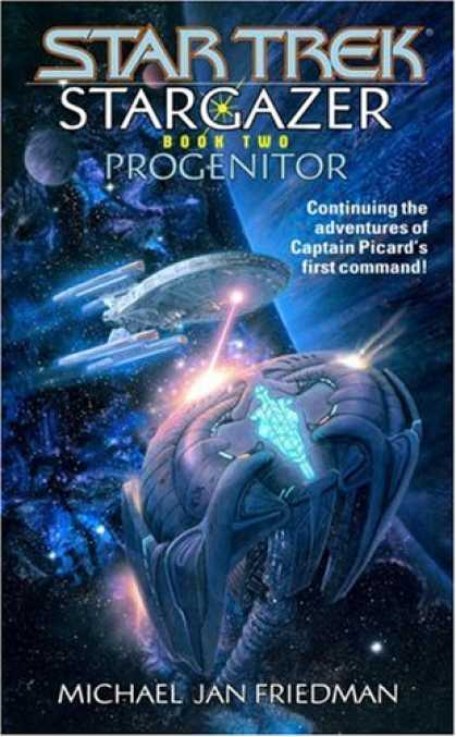 Star Trek Books - Progenitor (Star Trek: Stargazer, Book 2)