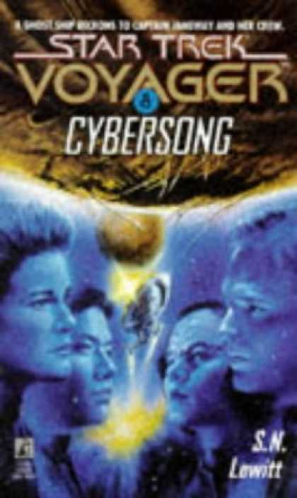 Star Trek Books - Cybersong (Star Trek Voyager, No 8)