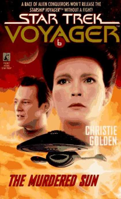 Star Trek Books - The Murdered Sun (Star Trek Voyager, No 6)