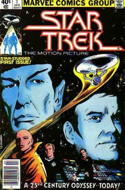 Star Trek Books - Star Trek The Motion Picture (Comic) April 1980 No. 1 (Star-Studded First Issue,