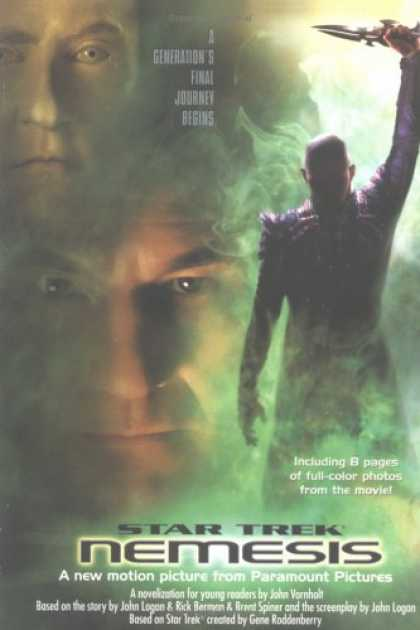 Star Trek Books - NEMESIS: YOUNG ADULT EDITION (STAR TREK: THE NEXT GENERATION S.)