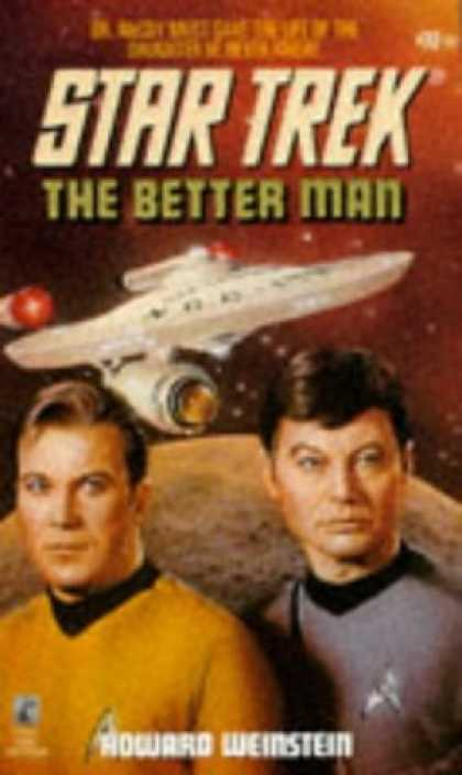 Star Trek Books - The Better Man (Star Trek, Book 72)