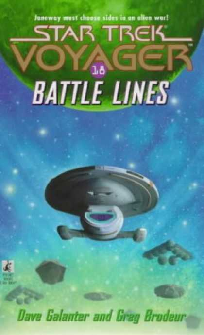 Star Trek Books - Battle Lines (Star Trek: Voyager)