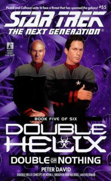 Star Trek Books - Double or Nothing (Star Trek The Next Generation: Double Helix, Book 5)